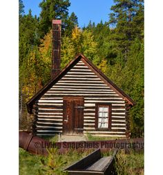 CO Rocky Mountain Mining Cabin photograph print, 5x7, UNframed, unmatted