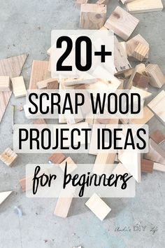 Check out these simple scrap wood projects and ideas to try! These easy small wood projects are perfect beginner woodworking projects too! # simple wood projects Easy Beginner scrap wood projects you need to see! Easy Small Wood Projects, Scrap Wood Projects, Wood Projects For Beginners, Beginner Woodworking Projects, Wood Working For Beginners, Diy Woodworking, Easy Projects, Scrap Wood Crafts, Amigurumi