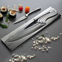 #Fancy Deglon knife set