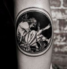 Le Morte d'Arthur / Witchcraft album artwork  By Alex at Holy Mountain (UK)