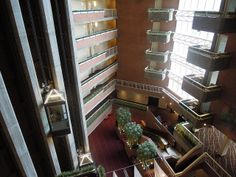 Hotel atrium, Hyatt Regency Cambridge