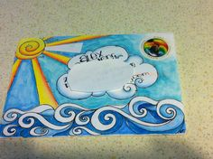 Beautiful decorated mail from my talented friend Dawn :-)