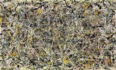 잭슨 폴록 - 제1번,1949 20141117 chaos & fractal... 세상에는우월한문화도열등한문화도없다 ~~~~~~~~ 자연이그러하듯..사람이그러하듯...