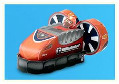 Your PAW Patrol fan will love making Zuma's hovercraft vehicle!