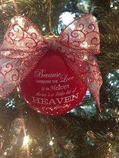 Because someone we love is in heaven.... by LuluDesignsTX on Etsy