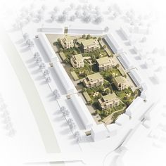 As part of a competition for urban realignment of a residential area of the city Raststatt we have been instructed by Bilger Fellmeth architects with the realization of 3D images.