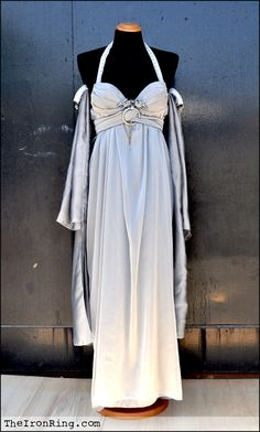 Daenerys wedding dress by ~TheIronRing on deviantART