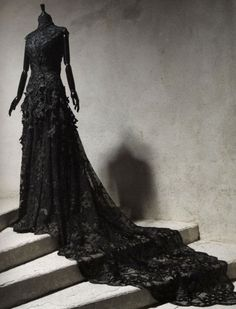 #Gothic #Wedding #Dress