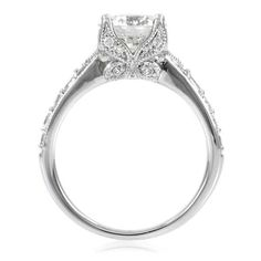 Butterfly Wedding Rings | Home > Rings > Shantae's Engagement Ring - 2 CT Butterfly Set CZ