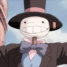 Studio Ghibli Art, Studio Ghibli Movies, Studio Ghibli Characters, Anime Characters, Personajes Studio Ghibli, Arte Cyberpunk, Howls Moving Castle, Hayao Miyazaki, Animes Wallpapers