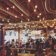 pine street market - food hall in Portland, Oregon