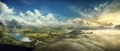 Matte Painting on Behance