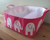 Fabric organizer storage basket