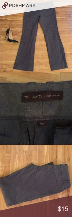 Limited dark grey dress pants Some wear to them but still in good condition. The Limited Pants