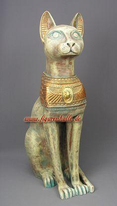 Figurenhalle - Bastet Katze Ägypten