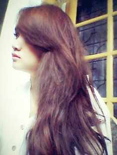 Long hair..