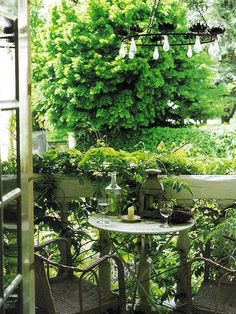 ideas french door balcony outdoor spaces - All About Balcony Small Outdoor Spaces, Outdoor Rooms, Outdoor Gardens, Outdoor Living, Outdoor Decor, Small Spaces, Tiny Balcony, Porch And Balcony, Gazebos