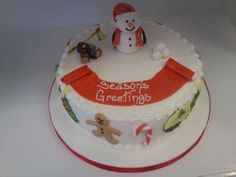 Christmas Cake Ideas 2013 | Big Christmas cake design | Love At First Bite Cakes