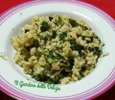 Il riso tartufo e zucchine è un delizioso semplice primo piatto aromatizzato da una grattugiata di tartufo ed arricchito da tocchetti di zucchine