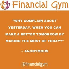 Why complain about yesterday when you can make a better tomorrow by making the most of today  Anonymous  #inspiration #inspirational #inspirationalquotes #feelingempowered #happinessquotes #selfbelief #hanginthere #loveyourself #successquotes #motivation #positivepeople #mindset #lawofattraction #faith #success #successful #lifeisgood #onmyterms #ididitmyway #goals #successfulpeople