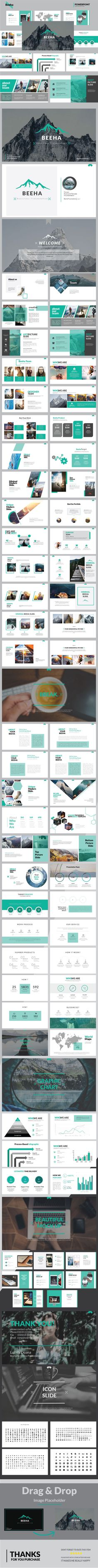 Beeha - Multipurpose PowerPoint Presentation Templates