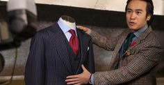 Garrison Bespoke Bulletproof Suit. Must have this for business meetings. ;)