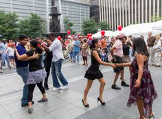 Put on your dancing shoes and join us for the best local and regional salsa bands on Fountain Square this weekend!
