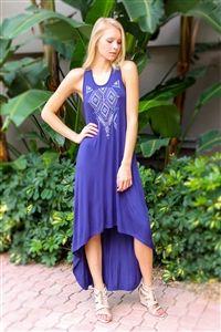Desert Dreams Dress. www.Shoplaurennicole.com  #navydress #dress #summerdress