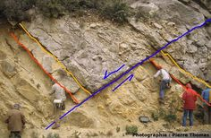Amazing Geologist ⚒ How to Identify Active Faults |#Geology *Photo : © Pierre Thomas visit : http://www.geologyin.com/