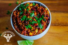 Vegan Freekeh Chili
