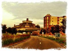 Student Union and Residence Hall. Quinnipiac University, Hamden, Connecticut. Photo by Dennis Lue Yat