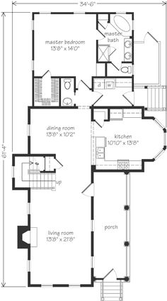 Looking for the best house plans? Check out the Regency plan from Southern Living. Old Country Houses, Southern Living House Plans, Porch Area, Good House, Best House Plans, Interior Architecture, Interior Design, Regency, Master Suite