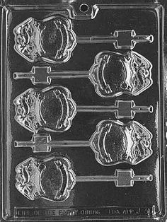 Cybrtrayd Police Badge Lolly Chocolate Candy Mold with Exclusive Cybrtrayd Copyrighted Chocolate Molding Instructions Police Retirement Party, Police Party, Retirement Ideas, Police Wedding, Retirement Countdown, Retirement Parties, Chocolate Lollipops, Chocolate Candy Molds, Police Cops