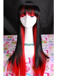 Cosplay Wigs(Different Colors Available)  Straight High Quality Synthetic
