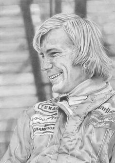 Ladies and gentleman welcome to the world of Daniel Yates. Take a look at these incredible Drawings depicting heroes of the past. James Hunt, Belgian Grand Prix, F 1, Lady And Gentlemen, Pencil Art, Fascinator, Einstein, Gentleman, The Past