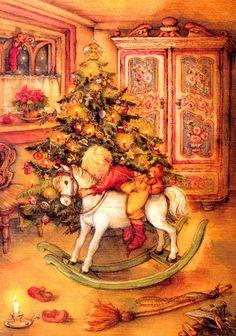 christmasillustr.quenalbertini: Lisi Martin Art | Weihnachten3 - Bildergalerie