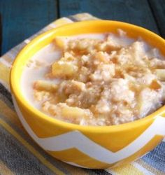 Salted (or not) Caramel Apple Oatmeal | The Oatmeal Artist