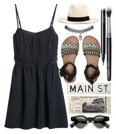 """Hat ✨"" by patriciaalves-1 ❤ liked on Polyvore featuring FOSSIL, H&M, Wet Seal, 2b bebe, NARS Cosmetics, Billabong and emmastaggies"