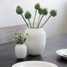 "Vase ""Hammershoi"" Weiß"