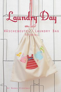 Laundry Bag / Laundry Bag Tutorial