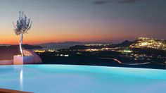 The most exclusive luxury honeymoon among hotels in Santorini Greece, a place of unprecedented serenity, privacy & comfort, purpose-built for VIPs Hotels In Santorini Greece, Hotel S, Carpe Diem, Airplane View, Serenity, Digital Marketing, Luxury, Building, Places