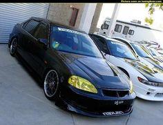Civic (6G) Sedan - Custom Honda Civic 6 Sedan 284129 - Tuning Cars