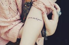 I'd love to have a little snippet of Isaiah 40:30-31 on my arm in this placement or by one of the scars on my chest as a remembrance of my heart transplant and God's goodness.  If I were to have a tattoo.