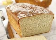 Make a homemade bread with the KitchenAid Stand Mixer using this crusty white bread recipe. Gluten Free Sponge Cake, Sponge Cake Recipes, Bread Recipes, Crusty White Bread Recipe, Bread Improver, Stand Mixer Recipes, Kitchen Aid Recipes, Protein Bread, Artisan Bread
