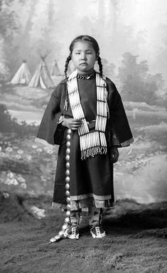 White Face's daughter, Dakota, as child by David Frances Barry, 1880s. see also http://digital.denverlibrary.org/cdm/singleitem/collection/p15330coll22/id/45303/rec/2