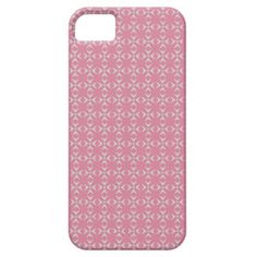 Pink/white crosses and dots pattern iPhone 5 case Special colors for her. Trendy pink-style pattern. Have a glamorous case nobody can't notice. Stay cool!