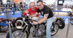 Mike O'Shea behind his light and agile Ducati Cafe Racer. #CafeRacer http://caferacer-manufacture.com/pl/galerie/