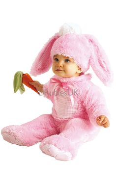 Precious Pink Wabbit WOW how cute is this little costume great for fancy dress or Easter from www.party-head.co.uk £15.95