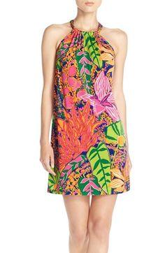 trina Trina Turk 'Juju' Print Jersey Shift Dress available at #Nordstrom