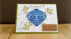Frisse kerstkaart heatembossing  www.feelcreative2.blogspot.nl